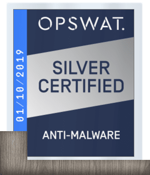 Anti-Malware silver certified